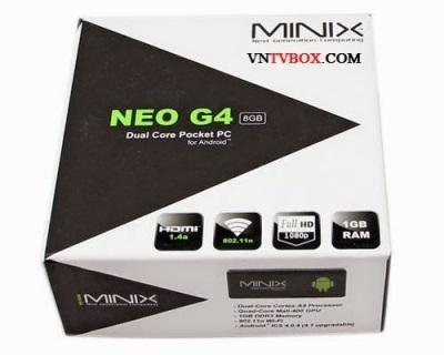 ANDROID TV BOX Minix Neo G4